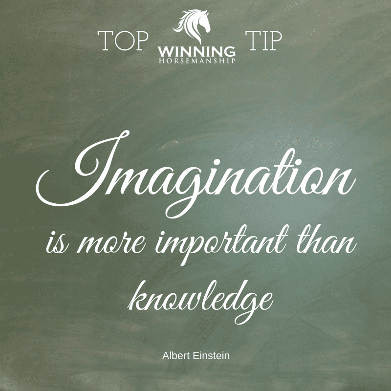 Tip: Imagination is more important than knowledge